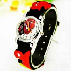 Dětské hodinky Spiderman černé