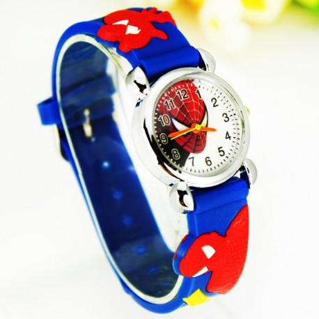 Dětské hodinky Spiderman modré