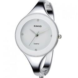 Dámské hodinky Kimio WK2682 s bílým ciferníkem