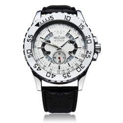 Pánské hodinky Winner Silver Business