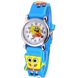 Dětské hodinky s motivem Spongebob modré