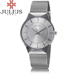 Pánské hodinky Julius JL-02 stříbrné