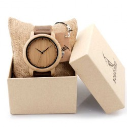 Pánské dřevěné hodinky Bobo Bird BAM02