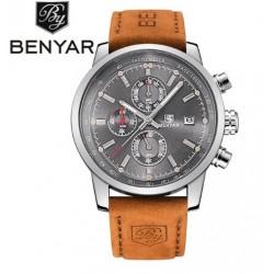 Pánské hodinky Chronograph BENYAR BY-5102M šedé