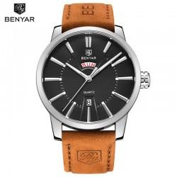 Pánské hodinky BENYAR BY-5101M s černým ciferníkem