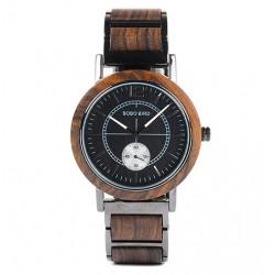 Dámské dřevěné hodinky Bobo Bird W-R13 hnědé