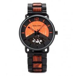 Pánské dřevěné hodinky Bobo Bird V-R30 oranžové