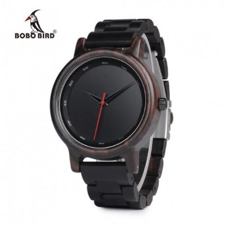 Pánské dřevěné hodinky Bobo Bird P10 hnědé