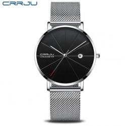 Pánské hodinky CRRJU 2216 stříbrno-černé