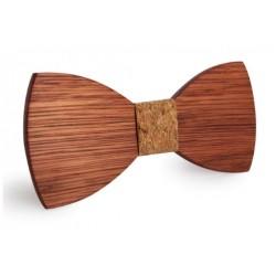 Pánský dřevěný motýlek Brooks