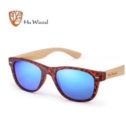 Dřevěné sluneční brýle Hu Wood GR1004 tygrované