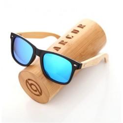 Dřevěné sluneční brýle BARCUR BC4175 modré