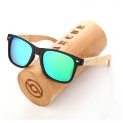 Dřevěné sluneční brýle BARCUR BC4175 zelené