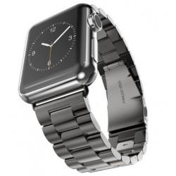 Kovový řemínek pro Apple Watch 38 mm černý