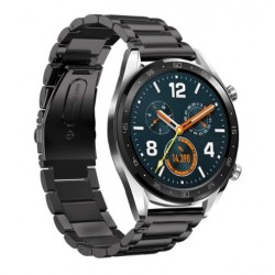 Kovový řemínek pro Huawei Watch GT černý