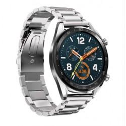 Kovový řemínek pro Huawei Watch GT sříbrný