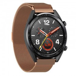 Řemínek Milánský tah pro Huawei Watch GT růžový
