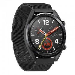 Řemínek Milánský tah pro Huawei Watch GT černý