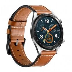 Kožený řemínek pro Huawei Watch GT hnědý