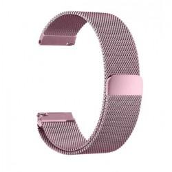 Řemínek Milánský tah pro Xiaomi Amazfit Bip růžový