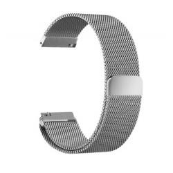 Řemínek Milánský tah pro Xiaomi Amazfit Bip stříbrný