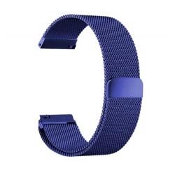 Řemínek Milánský tah pro Xiaomi Amazfit Bip modrý