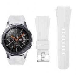 Silikonový řemínek pro Samsung Galaxy Watch 46 mm bílý