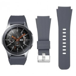 Silikonový řemínek pro Samsung Galaxy Watch 46 mm šedý