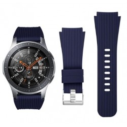 Silikonový řemínek pro Samsung Galaxy Watch 46 mm modrý