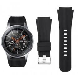 Silikonový řemínek pro Samsung Galaxy Watch 46 mm černý