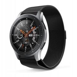 Řemínek Milánský tah pro Samsung Galaxy Watch 46 mm černý