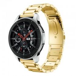Kovový řemínek pro Samsung Galaxy Watch 42 mm zlatý