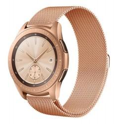 Řemínek Milánský tah pro Samsung Galaxy Watch 42 mm růžový