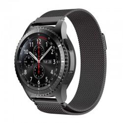 Řemínek Milánský tah pro Samsung Gear S3 černý