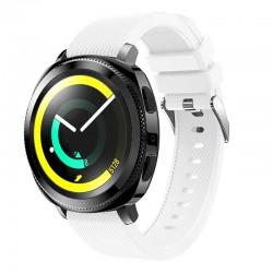 Silikonový řemínek pro Samsung Gear Sport bílý