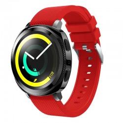 Silikonový řemínek pro Samsung Gear Sport červený