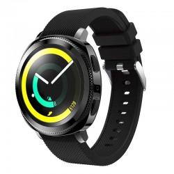 Silikonový řemínek pro Samsung Gear Sport černý