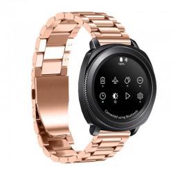 Kovový řemínek pro Samsung Gear Sport růžový
