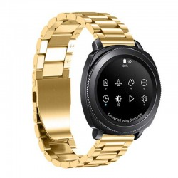 Kovový řemínek pro Samsung Gear Sport zlatý