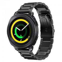 Kovový řemínek pro Samsung Gear Sport černý