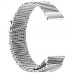 Řemínek Milánský tah pro Samsung Gear Sport stříbrný