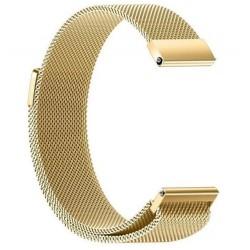 Řemínek Milánský tah pro Samsung Gear Sport zlatý