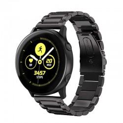 Kovový řemínek pro Samsung Galaxy Watch Active černý