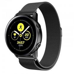 Řemínek Milánský tah pro Samsung Galaxy Watch Active černý