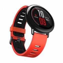 Silikonový řemínek pro Xiaomi Amazfit Pace červeno-černý