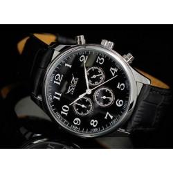 Pánské hodinky Jaragar Automatic Pilot s černým páskem