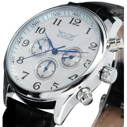 Pánské hodinky Jaragar Automatic Business s černým ciferníkem