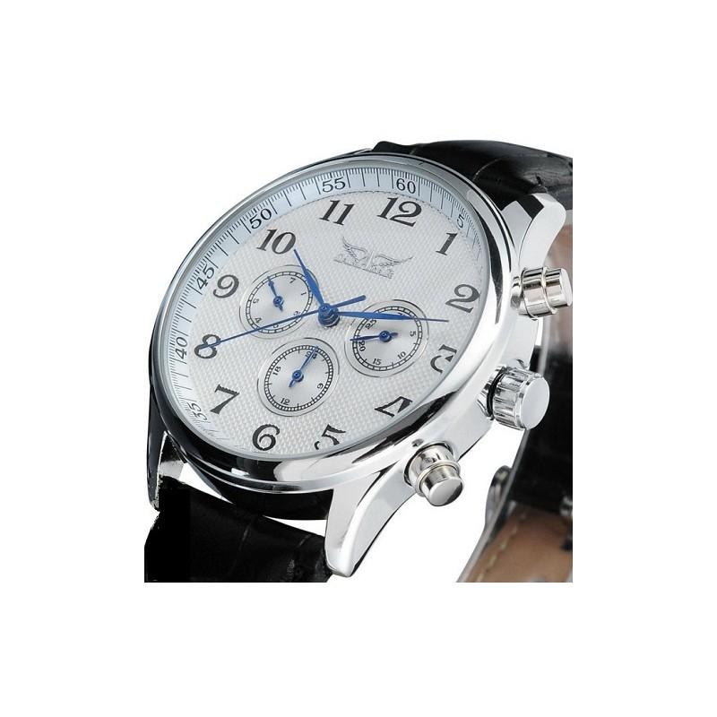 Pánské hodinky Jaragar Automatic Business s černým ciferníkem ... 36d38fbc54e