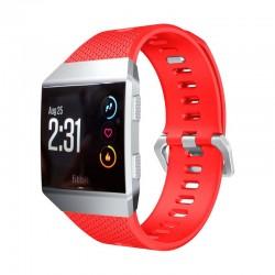 Sportovní silikonový řemínek pro Fitbit Ionic červený