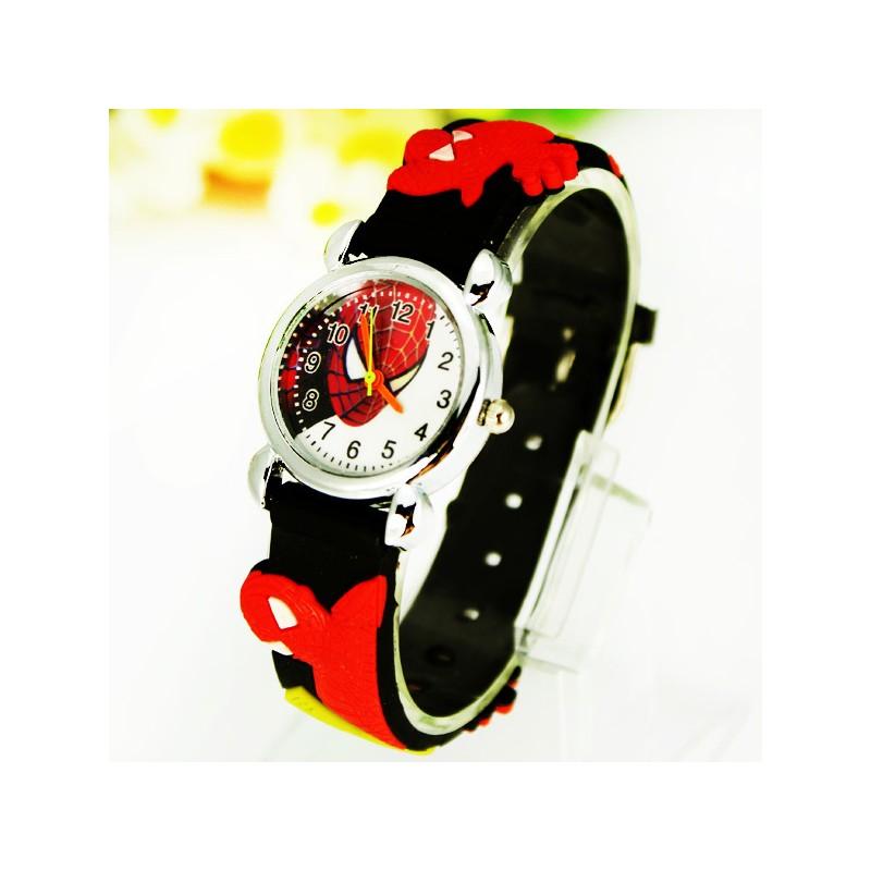 Dětské hodinky Spiderman černé 59465e193ef